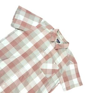 Patagonia Plaid Short Sleeve Button Down Shirt